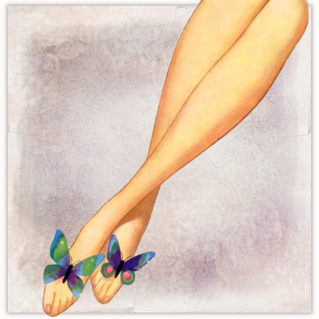 motýlci na nohách
