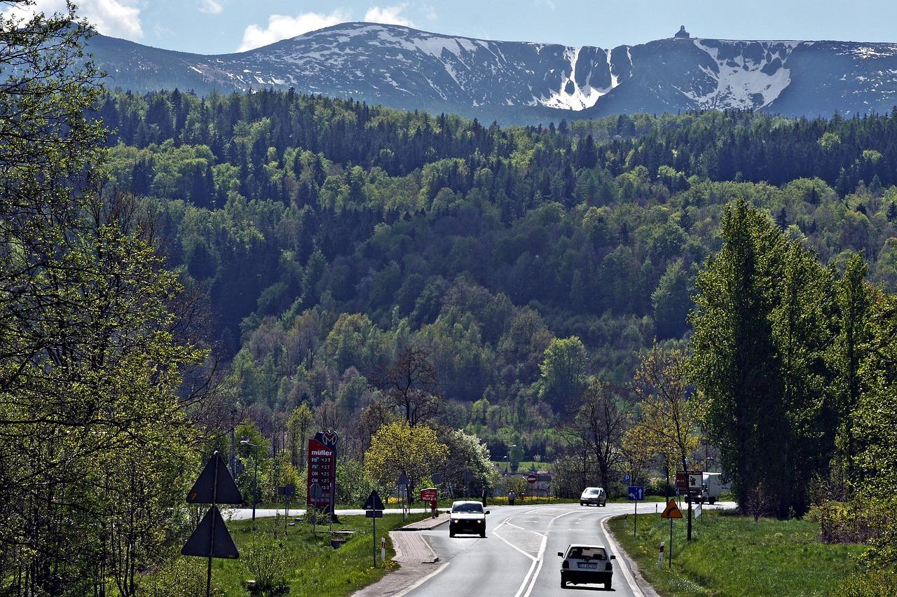 jízda do Krkonoš