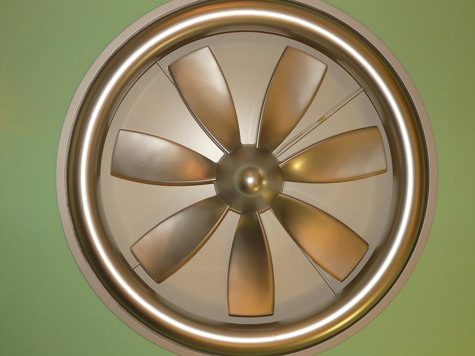 stropní ventiálor